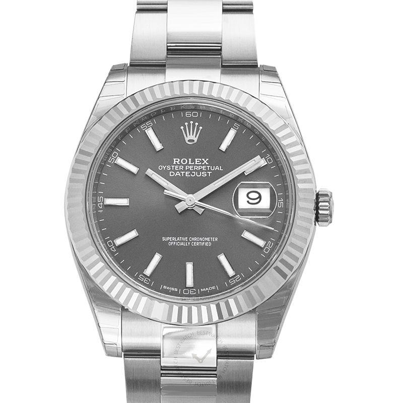 Rolex Datejust 126334-Rhodium-Oyster