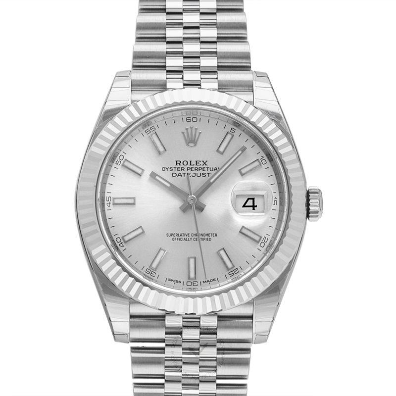 勞力士 日誌型 Datejust腕錶系列 126334 Silver Jubilee