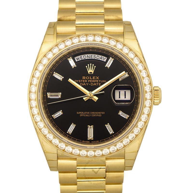 勞力士 星期日曆型 DayDate腕錶系列 228348RBR_Black