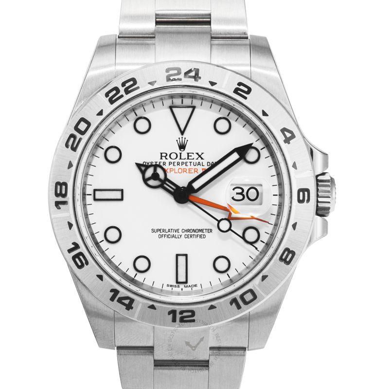 勞力士 探險型II ExplorerII腕錶系列 216570 White