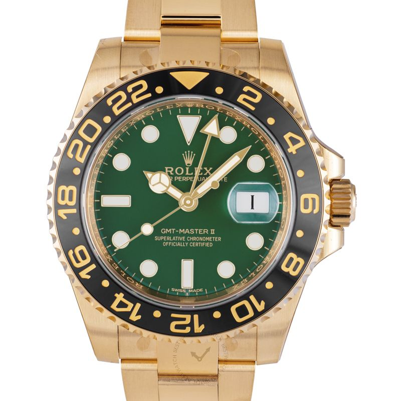 Rolex GMT Master II 116718LN GN