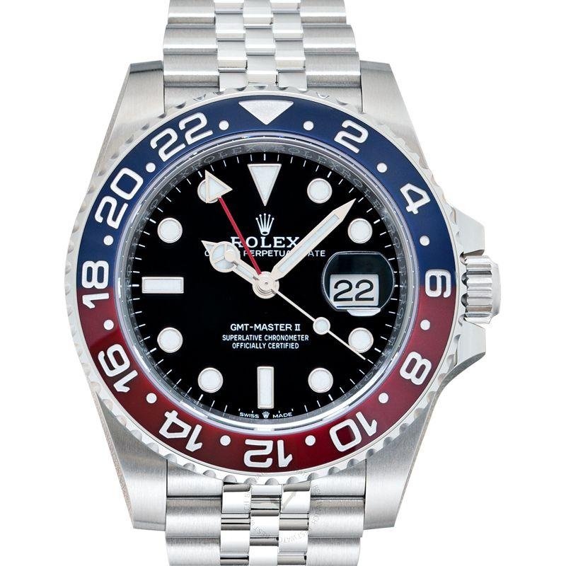 勞力士 格林威治型II GMT Master II腕錶系列 126710blro-0001