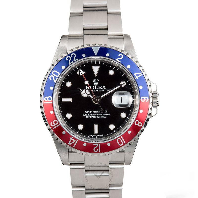 勞力士 格林威治型II GMT Master II腕錶系列 16710 Blue Red