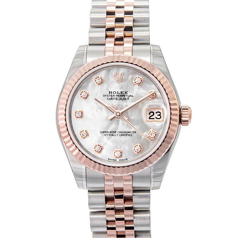 Rolex Lady Datejust 178271 White MOP GG