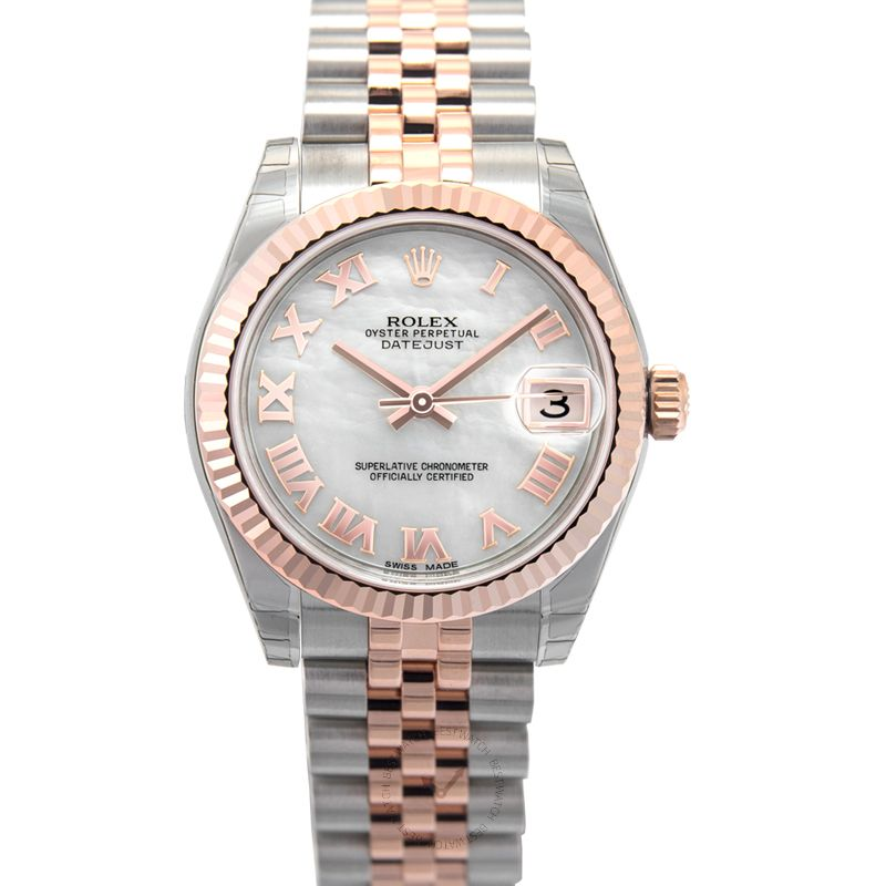 Rolex Lady Datejust 178271 White MOP