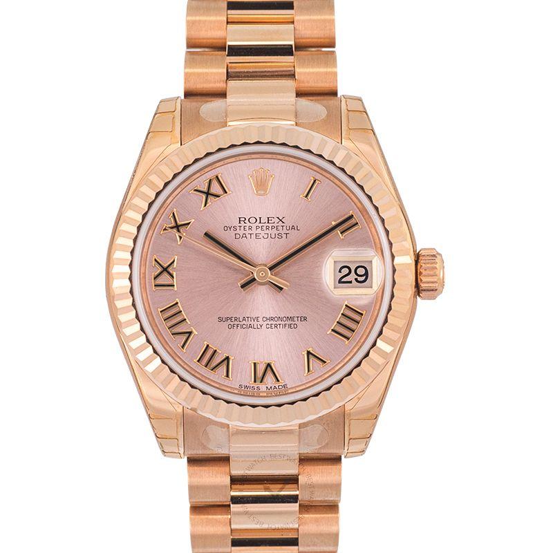 Rolex Lady Datejust 178275 pink roman