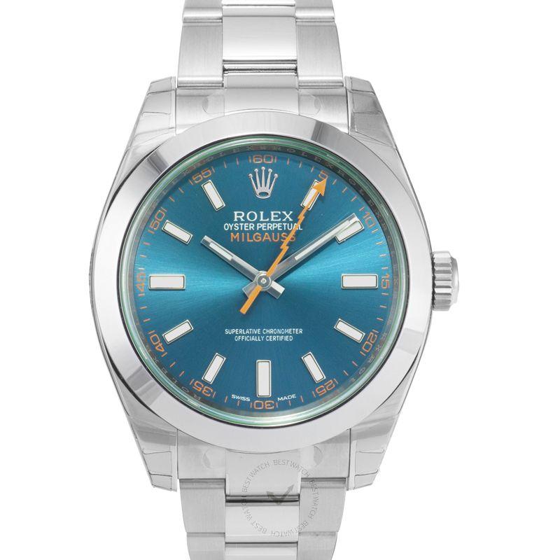勞力士 Milgauss腕錶系列 116400 GV Blue/GV-Z