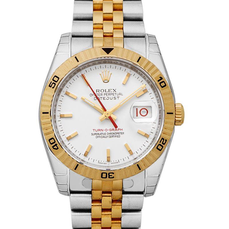 Rolex Turn o graph 116263 WH