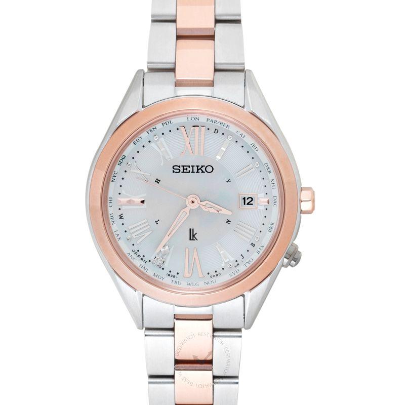 精工錶 Lukia腕錶系列 SSQV040