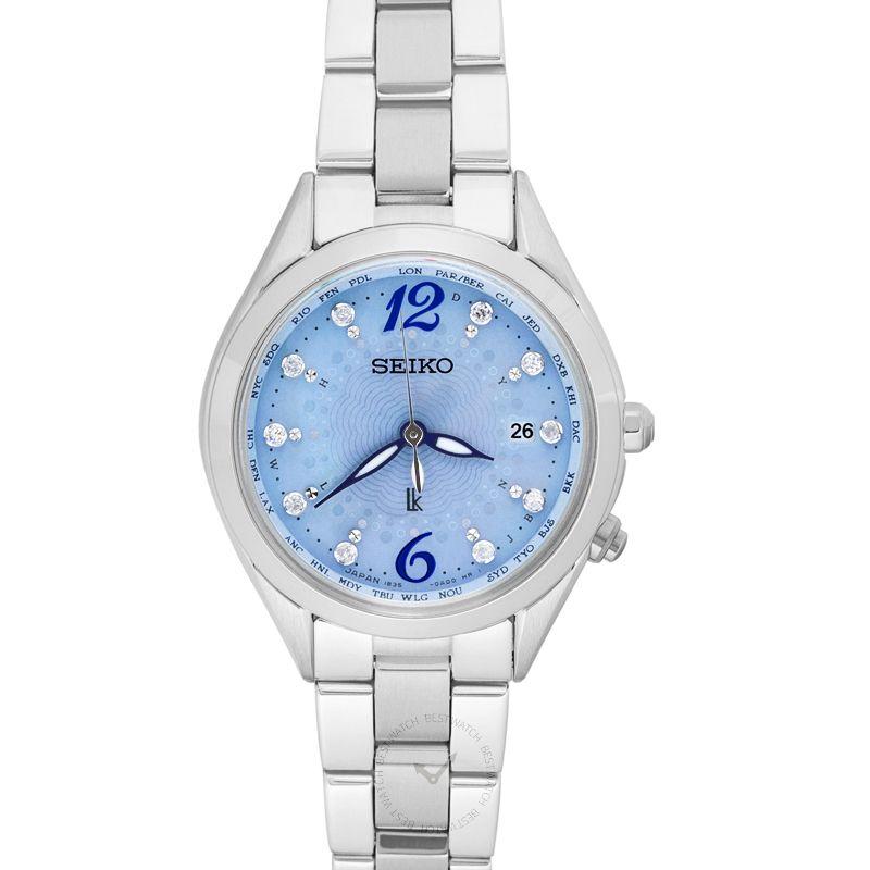 精工錶 Lukia腕錶系列 SSQV043