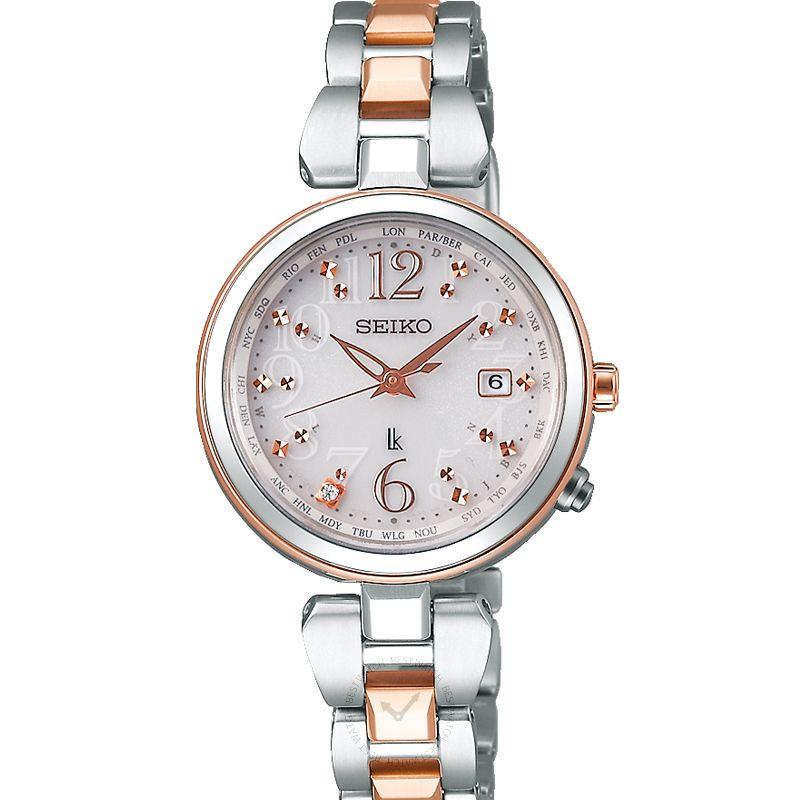 精工錶 Lukia腕錶系列 SSQV048