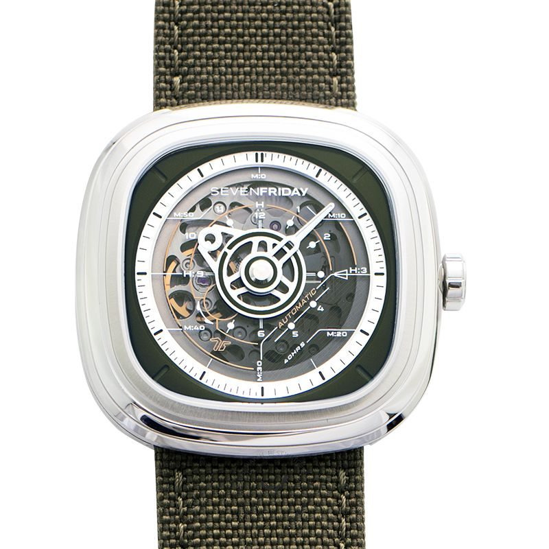 Sevenfriday T-Series腕錶系列 T2/01