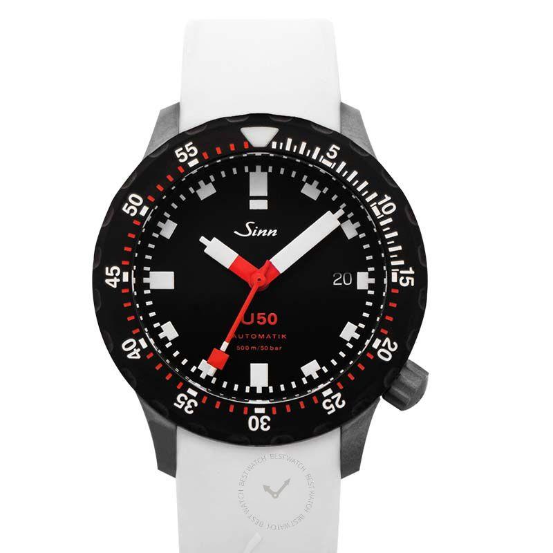Sinn 潛水錶系列 1050.050-Silicone-White