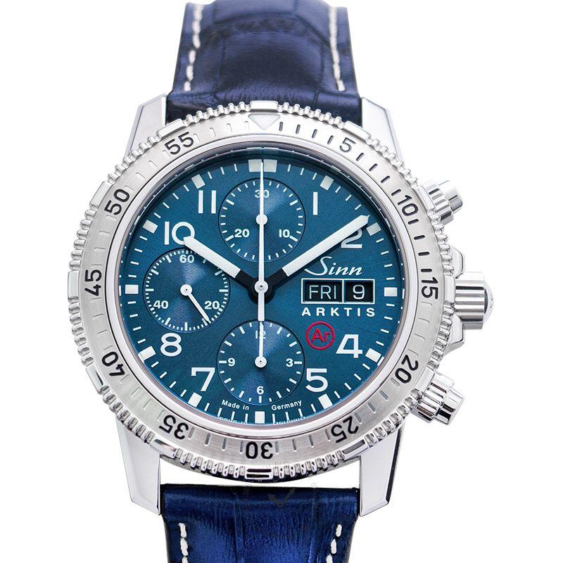Sinn 潛水錶系列 206.015-Leather-CAE-Blue