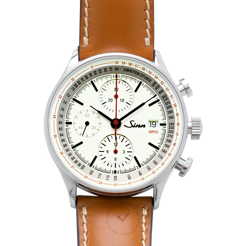 Sinn Instrument 計時碼錶系列 910.020-Leather-Horsehide-Brw-CSW
