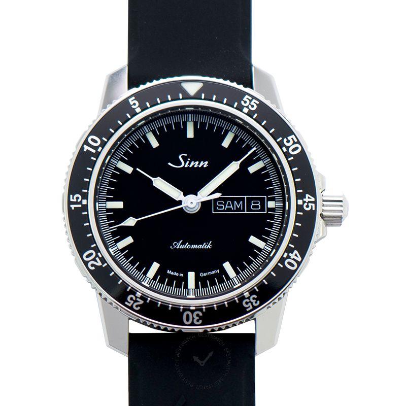 Sinn Instrument 腕錶系列 104.010-Silicone-Blk