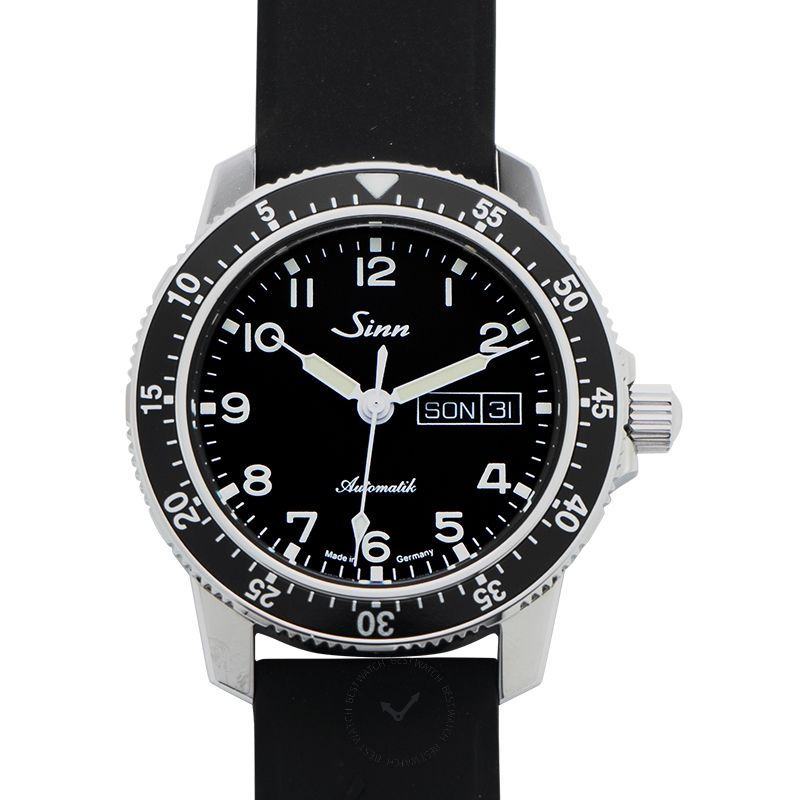 Sinn Instrument 腕錶系列 104.011-Silicone-Blk