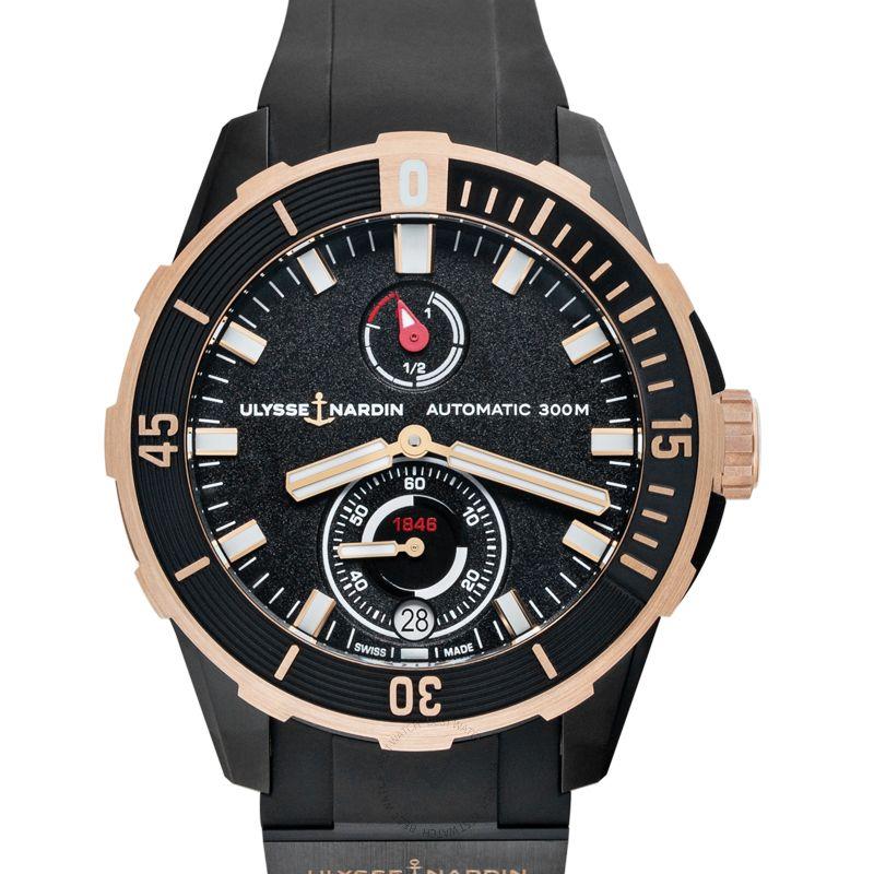 雅典錶 Diver腕錶系列 1185-170-3/BLACK