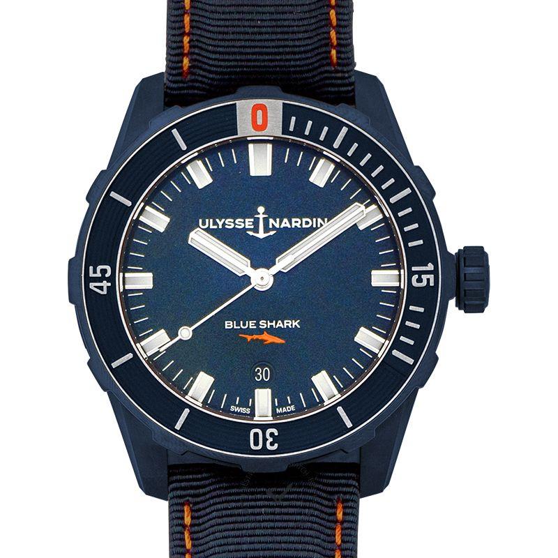 雅典錶 Diver腕錶系列 8163-175LE/93-BLUE SHARK