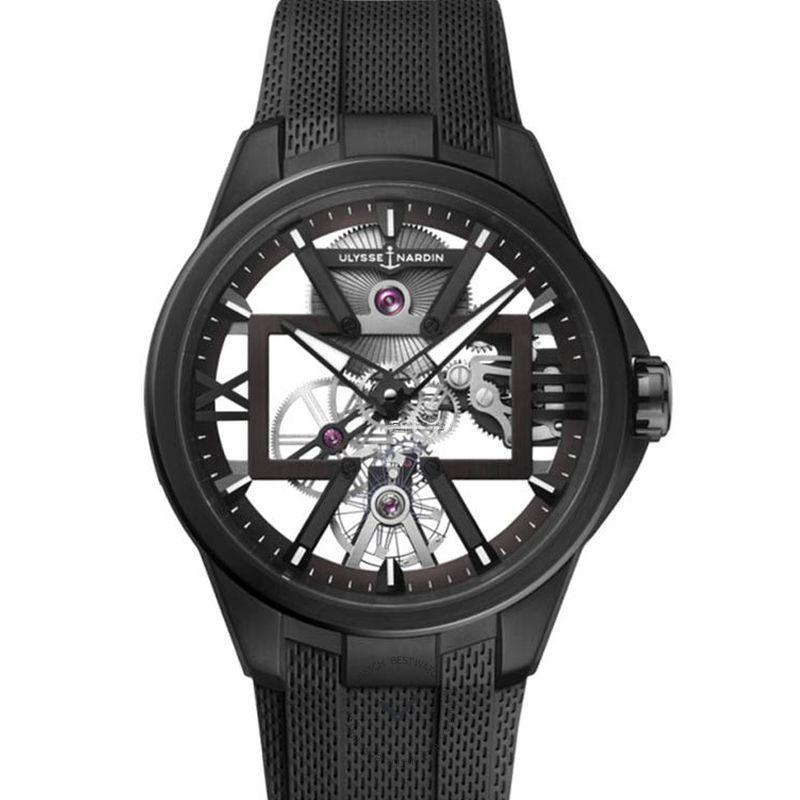 雅典錶 Executive腕錶系列 3713-260/BLACK