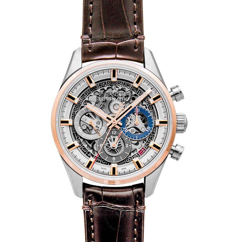 真力時 Chronomaster腕錶系列 51.2151.400/78.C810