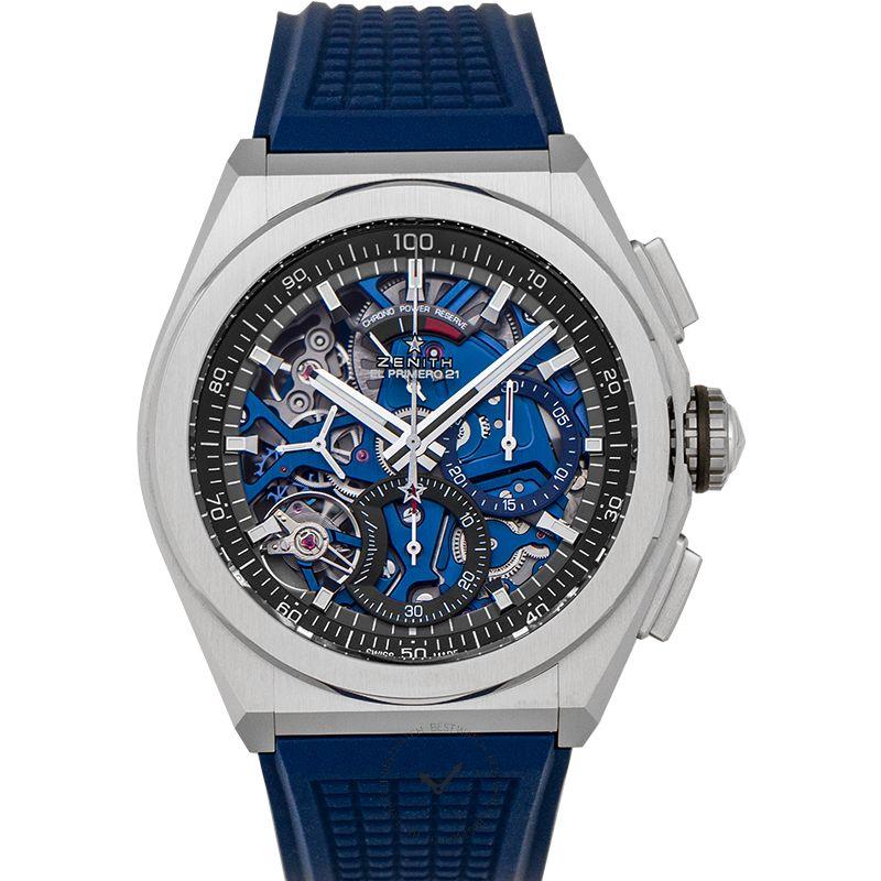 真力時 Defy腕錶系列 95.9002.9004/78.R590