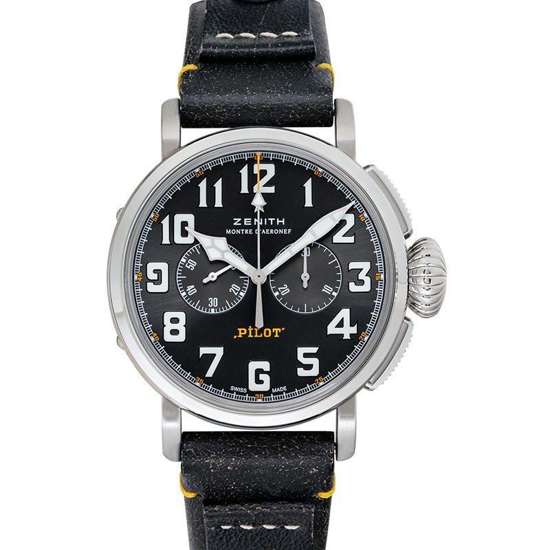 真力時 Pilot腕錶系列 03.2434.4069/20.I010