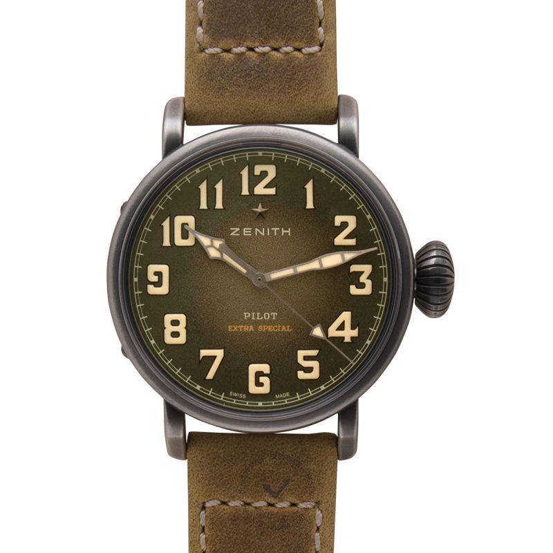 真力時 Pilot腕錶系列 11.1943.679/63.C800