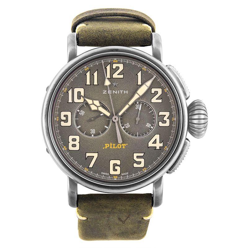 真力時 Pilot腕錶系列 11.2430.4069/21.C773