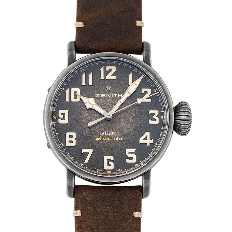 真力時 Pilot腕錶系列 11.2430.679/21.C801