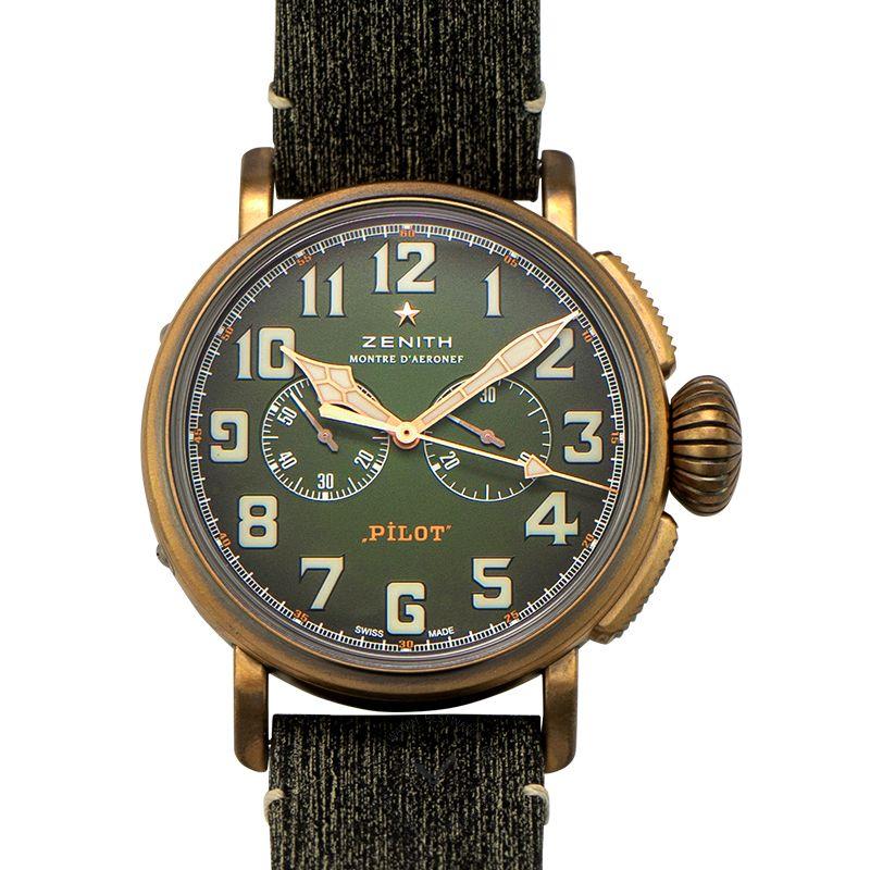 真力時 Pilot腕錶系列 29.2430.4069/63.I001