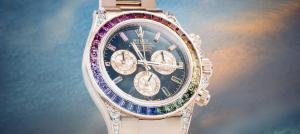 勞力士萬人迷手錶解析—勞力士Rainbow Daytona116595RBOW!