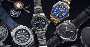 5個不能不知的名錶品牌!勞力士、歐米茄、江詩丹頓、愛彼錶、百達翡麗